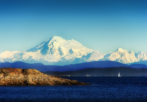 Mount Baker from Victotia BC