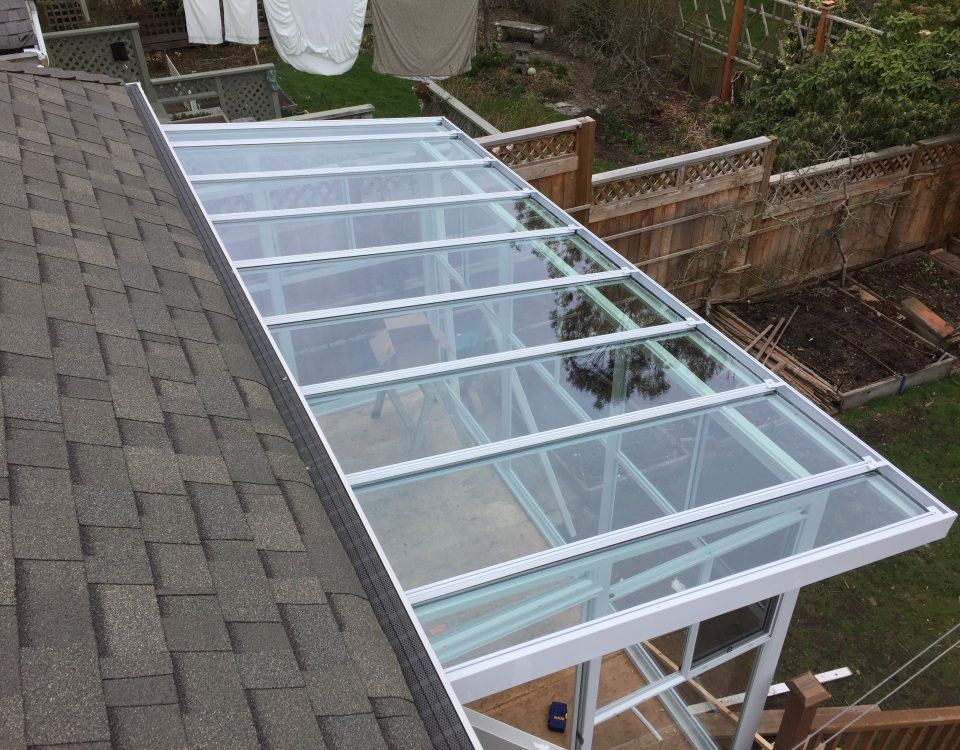 Transparent Sunroom Roof