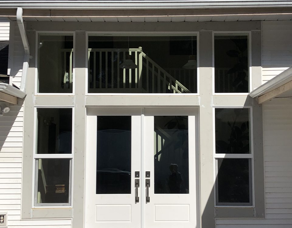front doors and windows